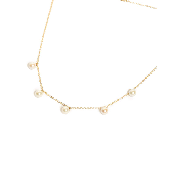 Nymph Formation Necklace - 9ct Gold
