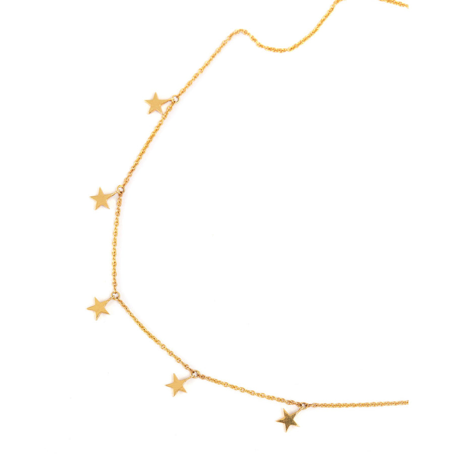 Starlet Necklace - 9ct Gold