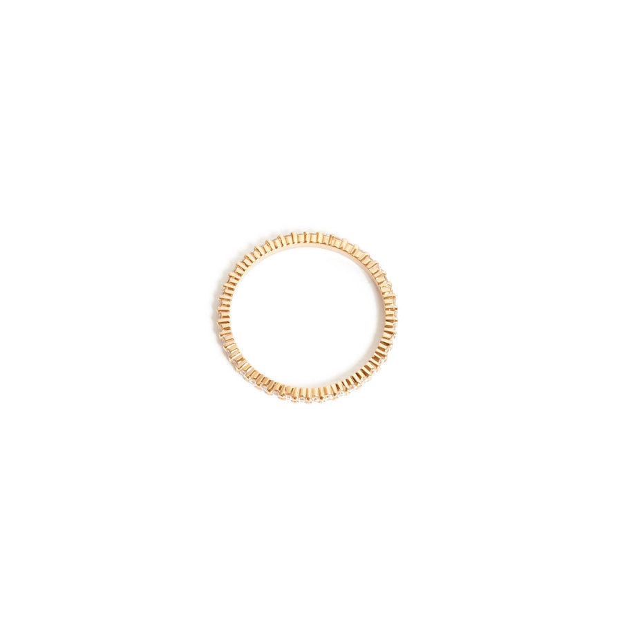 Sia Full Circle Diamond Ring - 14ct Rose Gold