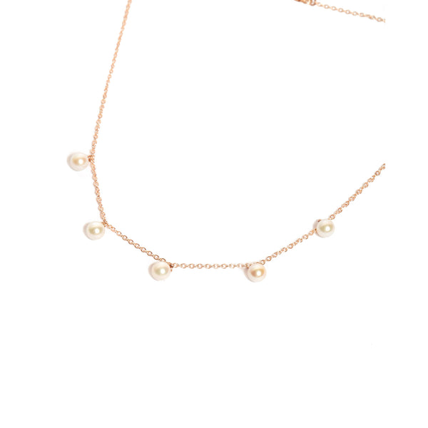 Nymph Formation Necklace - 9ct Rose Gold