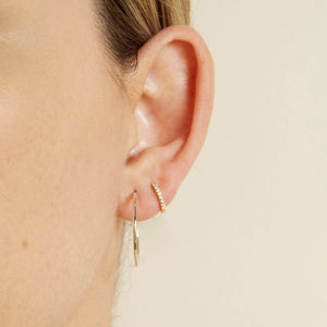 Baby Hoops - 9ct Gold