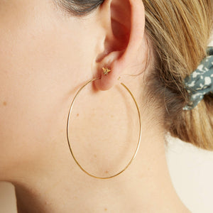 Honey Hoops - 9ct Rose Gold