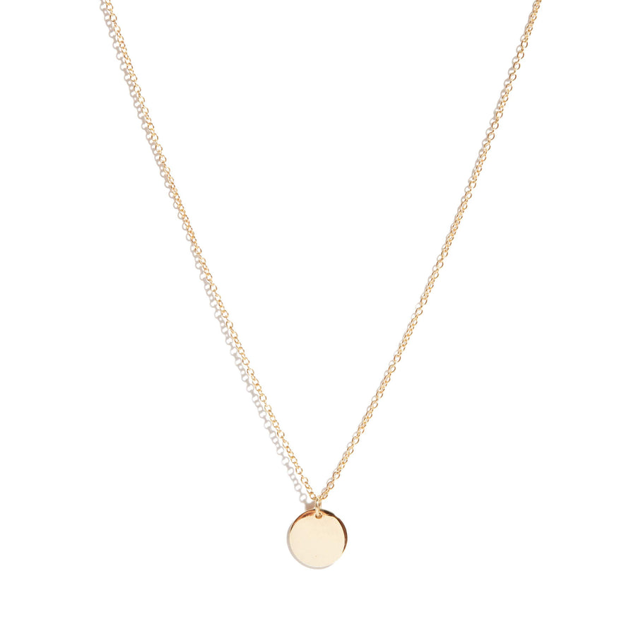 Capri Necklace (Mini) - 9ct Gold