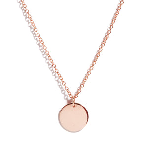 Capri Necklace (Mini) - 9ct Rose Gold