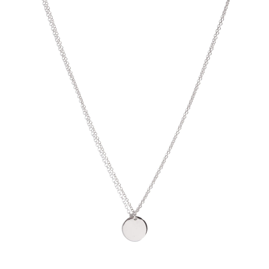 Capri Necklace (Small) - Silver