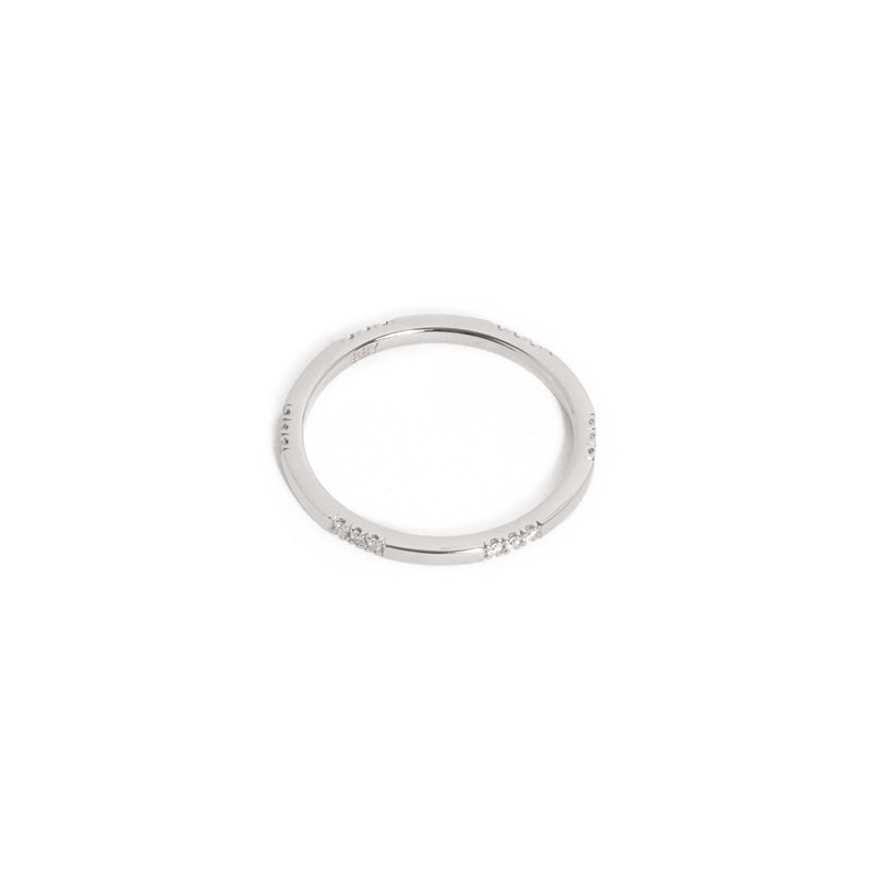 Sparkle Diamond Ring - 14ct White Gold