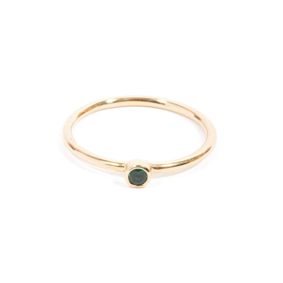 Neo Emerald Ring - 9ct Gold