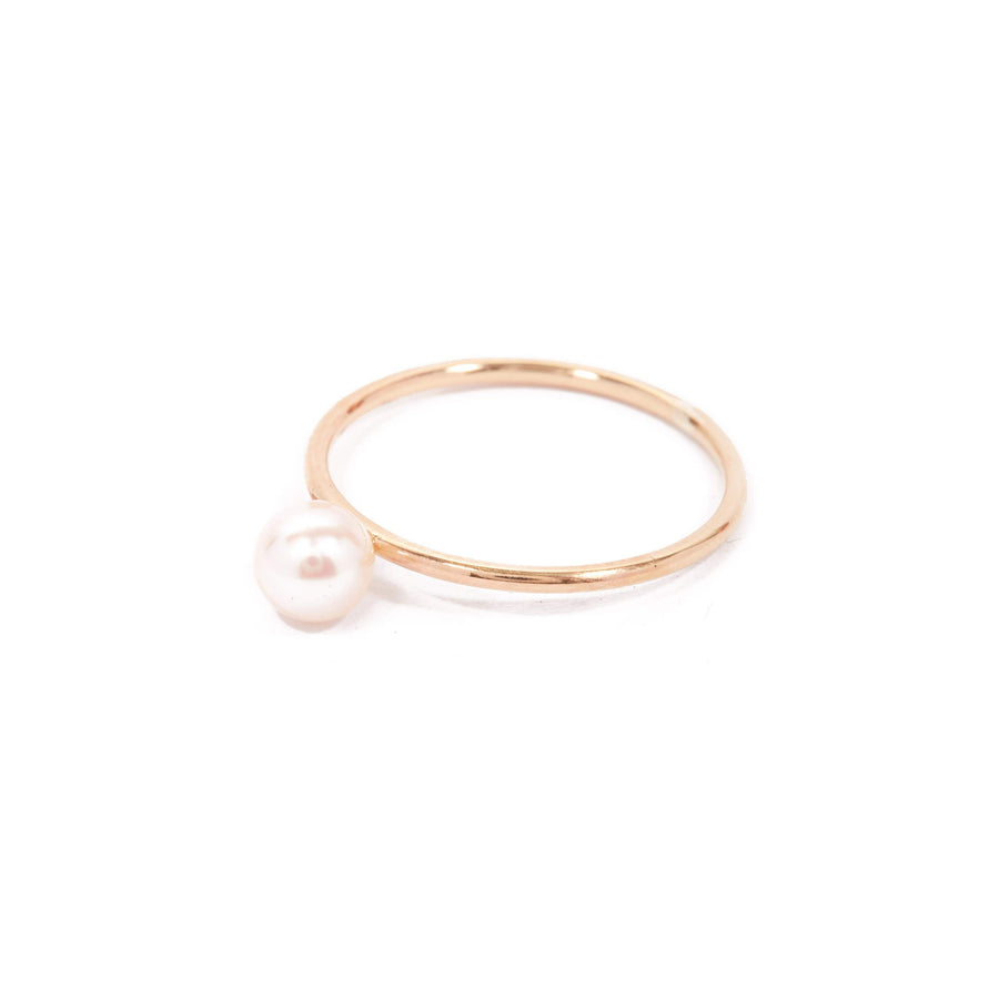 Nymph Pearl Ring - 9ct Gold