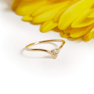 Neptune Diamond Ring - 9ct Gold