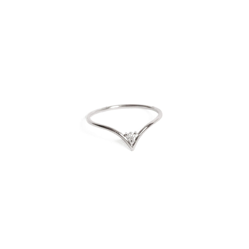 Neptune Diamond Ring - 9ct White Gold