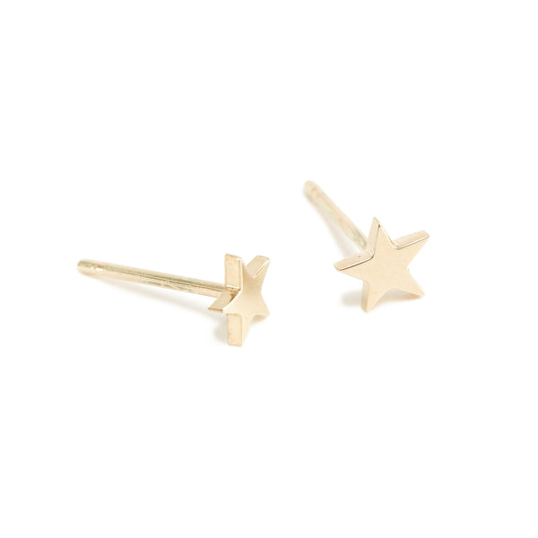 Star Stud - 9ct Gold