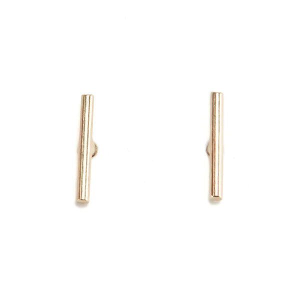 Bar Stud - 9ct Gold