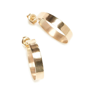Frida Hoops - 9ct Gold