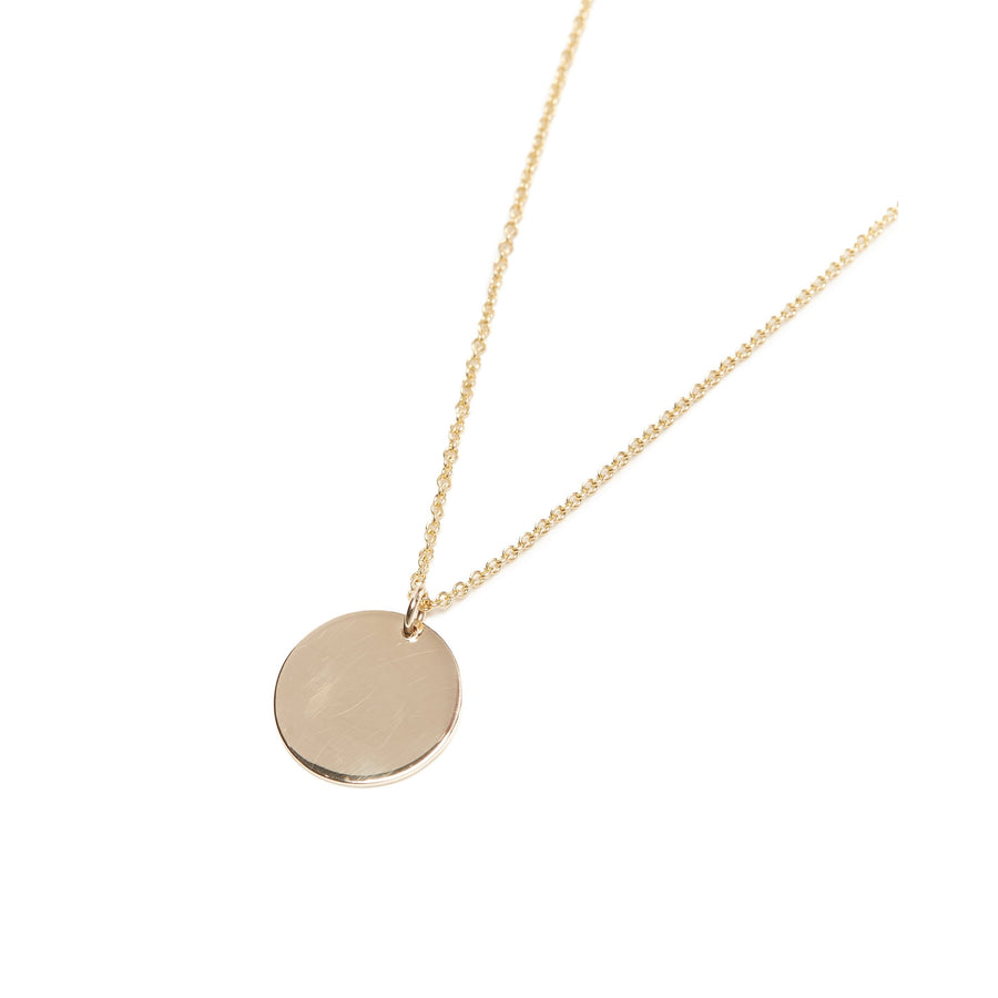 Capri Necklace Large - 9ct Gold