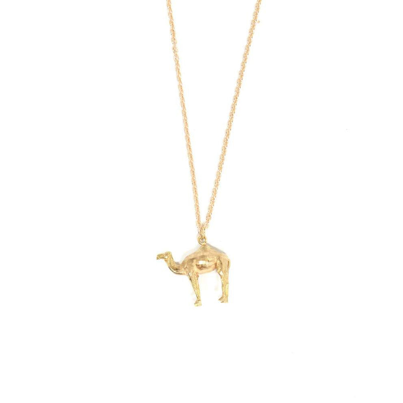 Camel Necklace - 9ct Gold