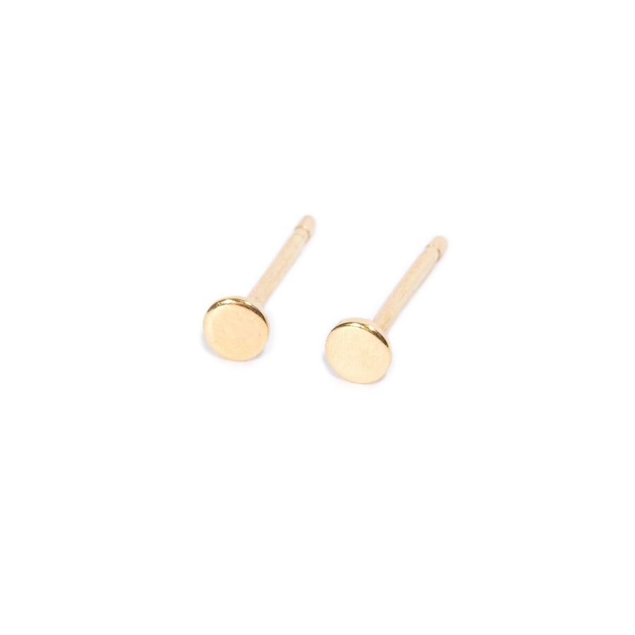 Small Dot Studs - 9ct Gold