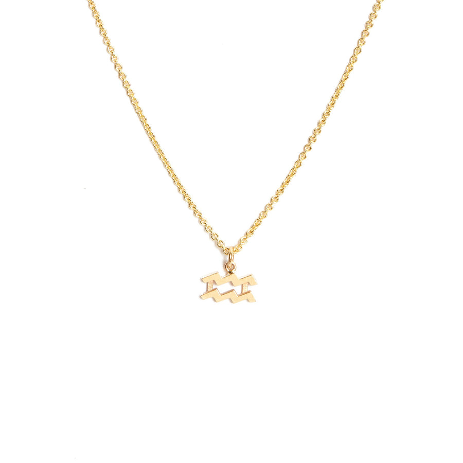 Zodiac Necklace - 9ct Gold