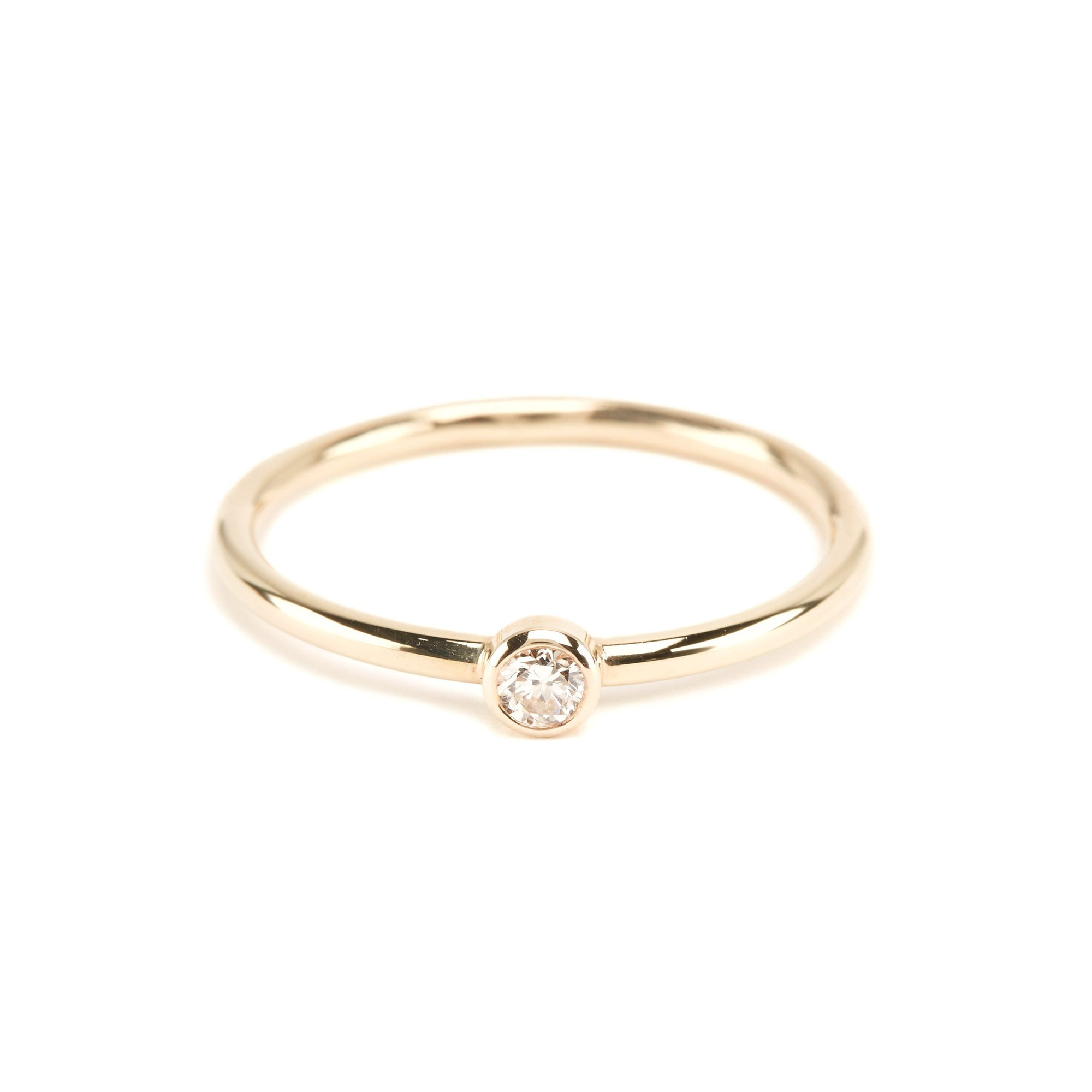 Neo Diamond Ring (Large) - 9ct Gold