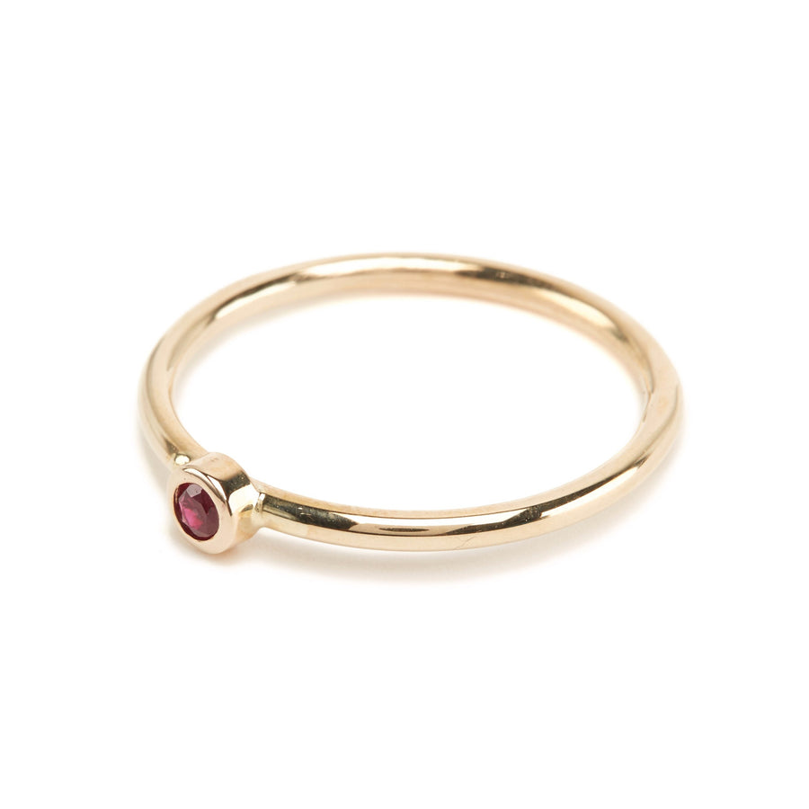 Neo Ruby Ring - 9ct Gold