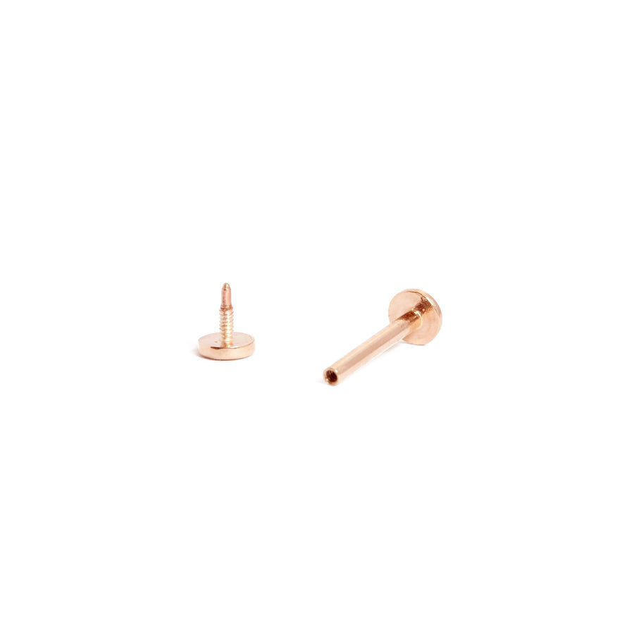 Bar Stud - 9ct Rose Gold