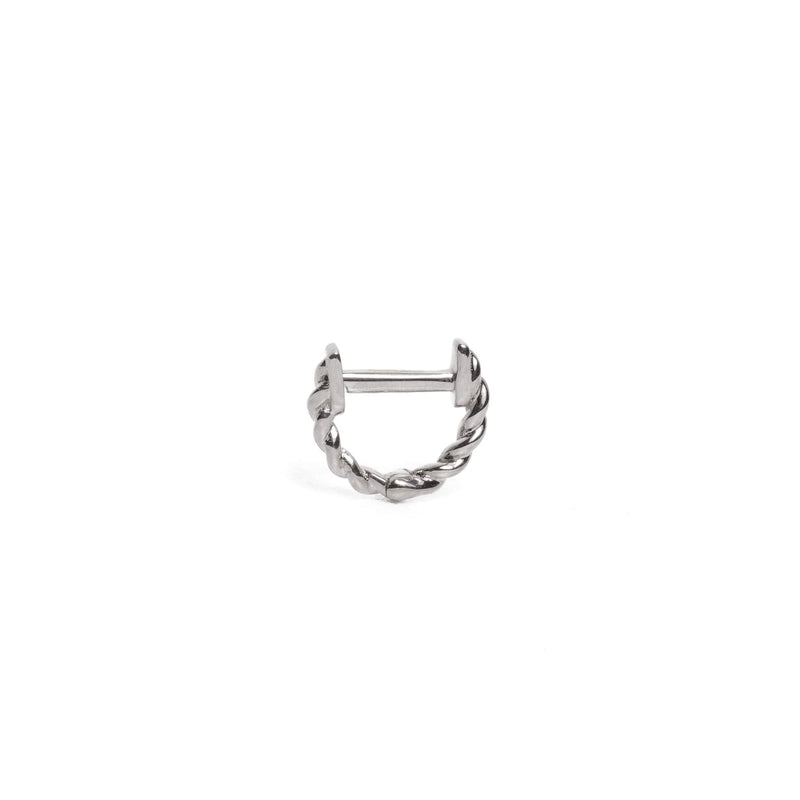 Helix Huggie Extra Small - 9ct White Gold
