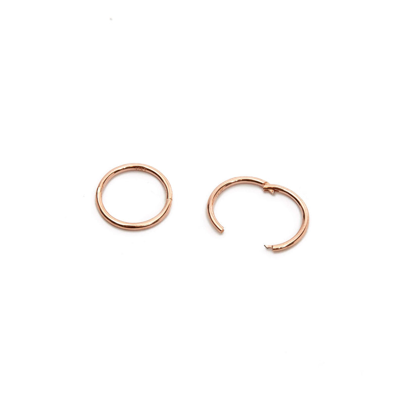 Sleeper Hoop 10mm - 9ct Rose Gold