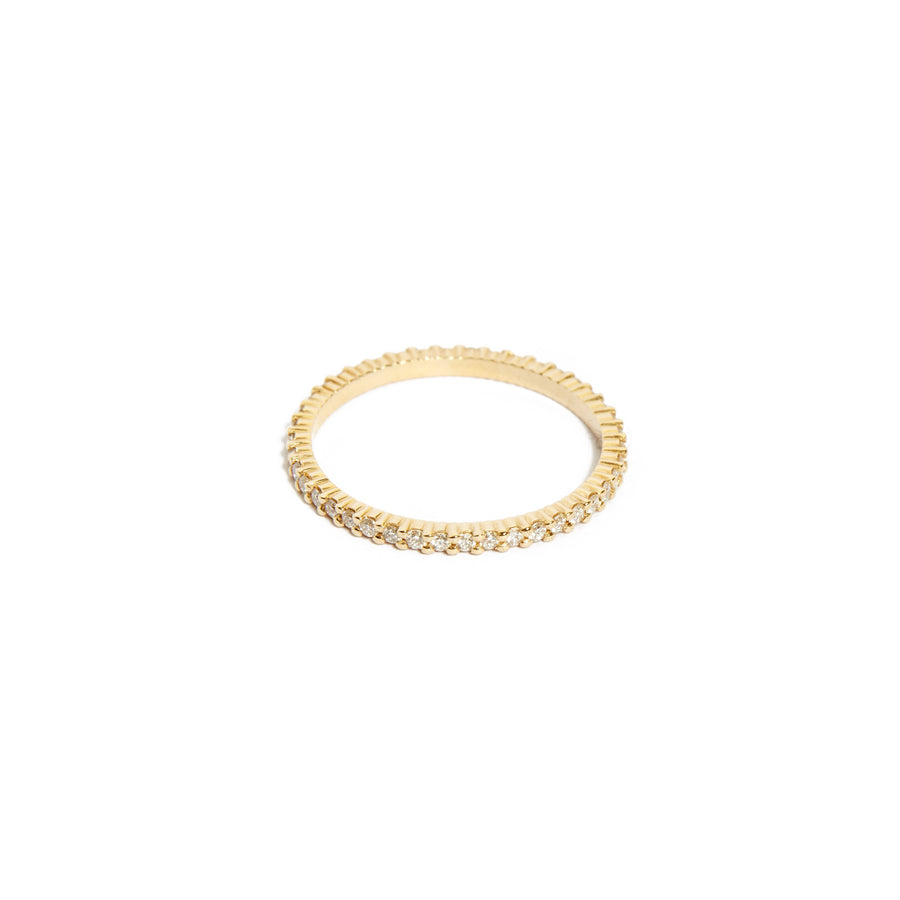 Sia Full Circle Diamond Ring - 14ct Gold