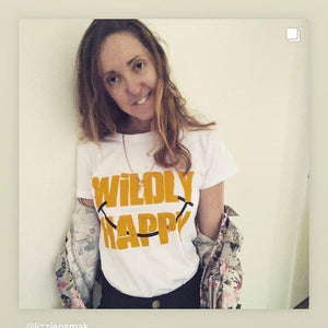 Wildly Happy, 100% Combed Cotton T-shirt T-shirts Your Inspiration Platform 10 White