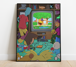 NICKELODEON 64 Art Print