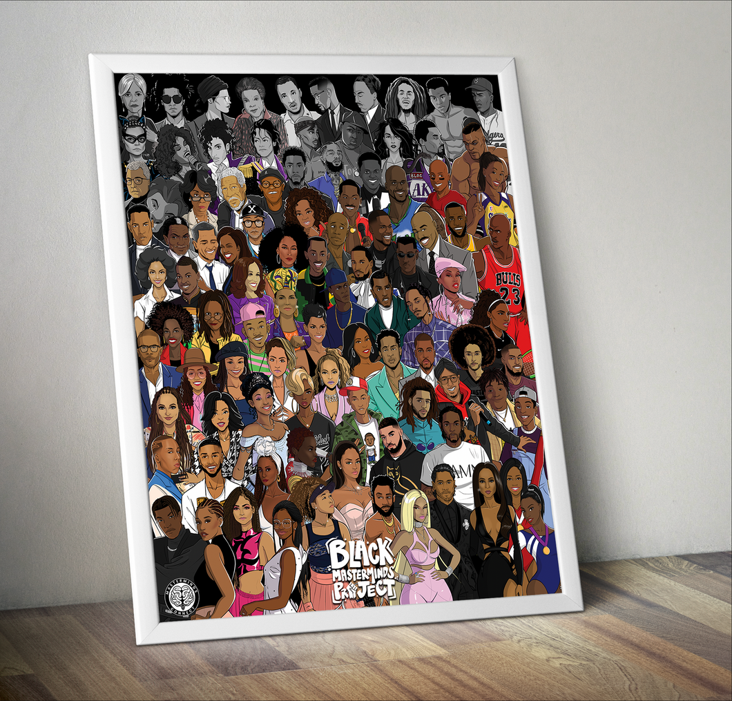 Black Masterminds Project Vol. 3 Poster