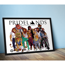 Load image into Gallery viewer, Pridelands Group Print