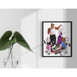 THE ARISTOCATS ART PRINT
