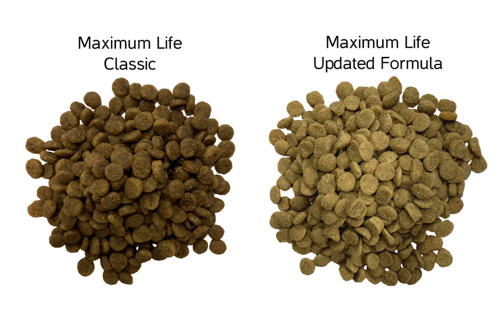 Gourmet Maximum Life Formula now contains Organic Soybean oil and Soybeans