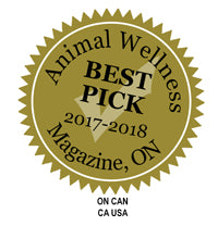 Animal Wellness Best Pick Award for Evolution Diet