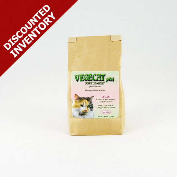 VegeCat phi Supplement - DISCOUNTED INVENTORY