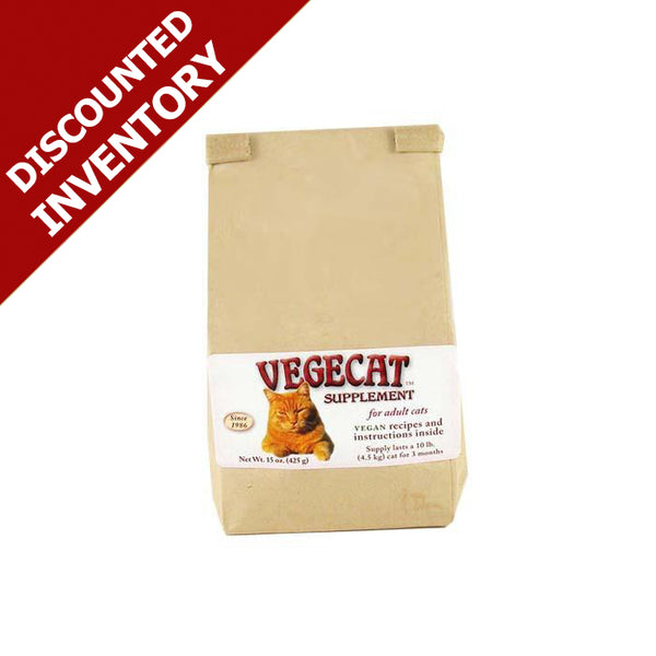 VegeCat Supplement - DISCOUNTED INVENTORY