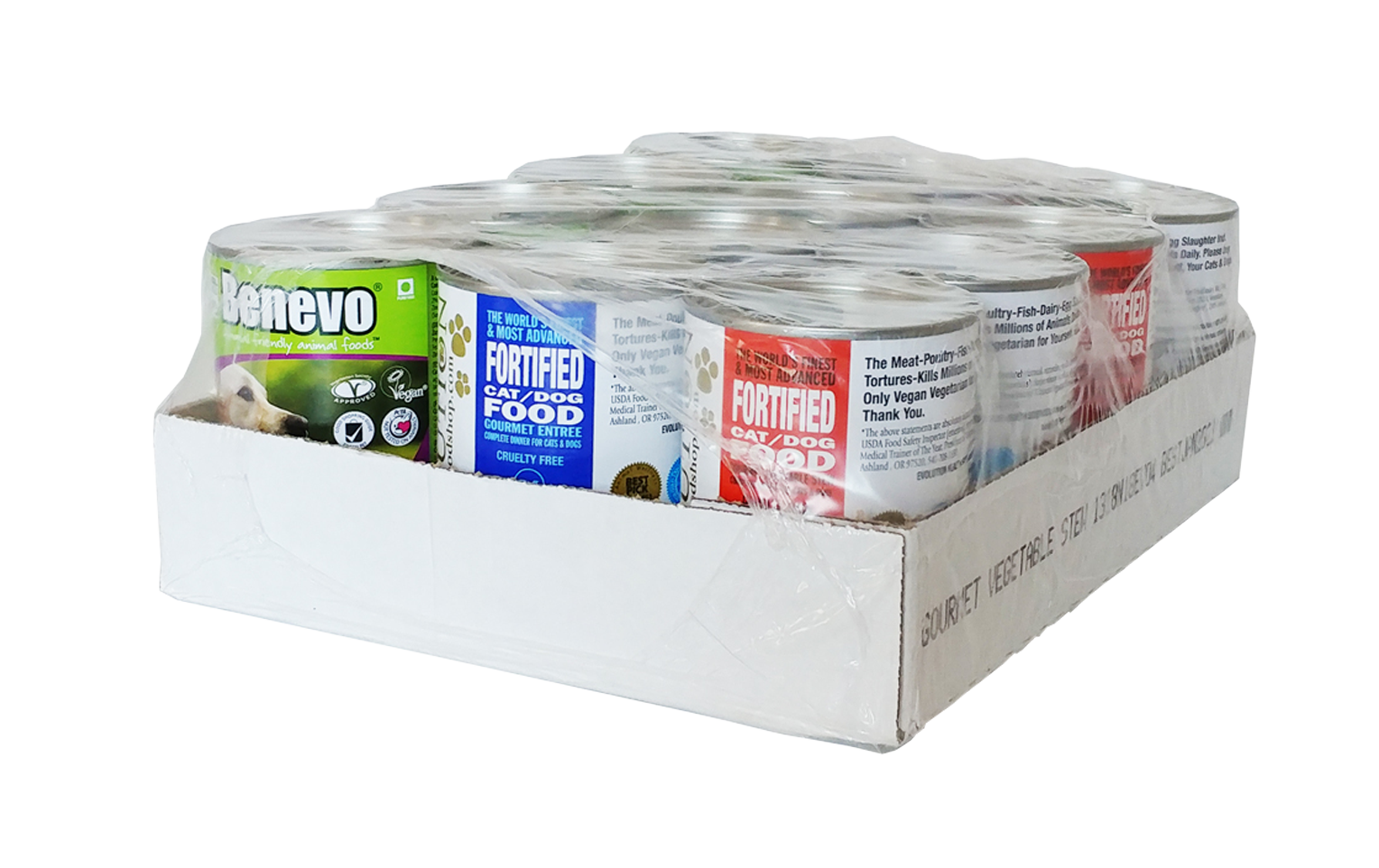 Benevo Duo - Complete Food for Cats and Dogs - Case of 12 cans