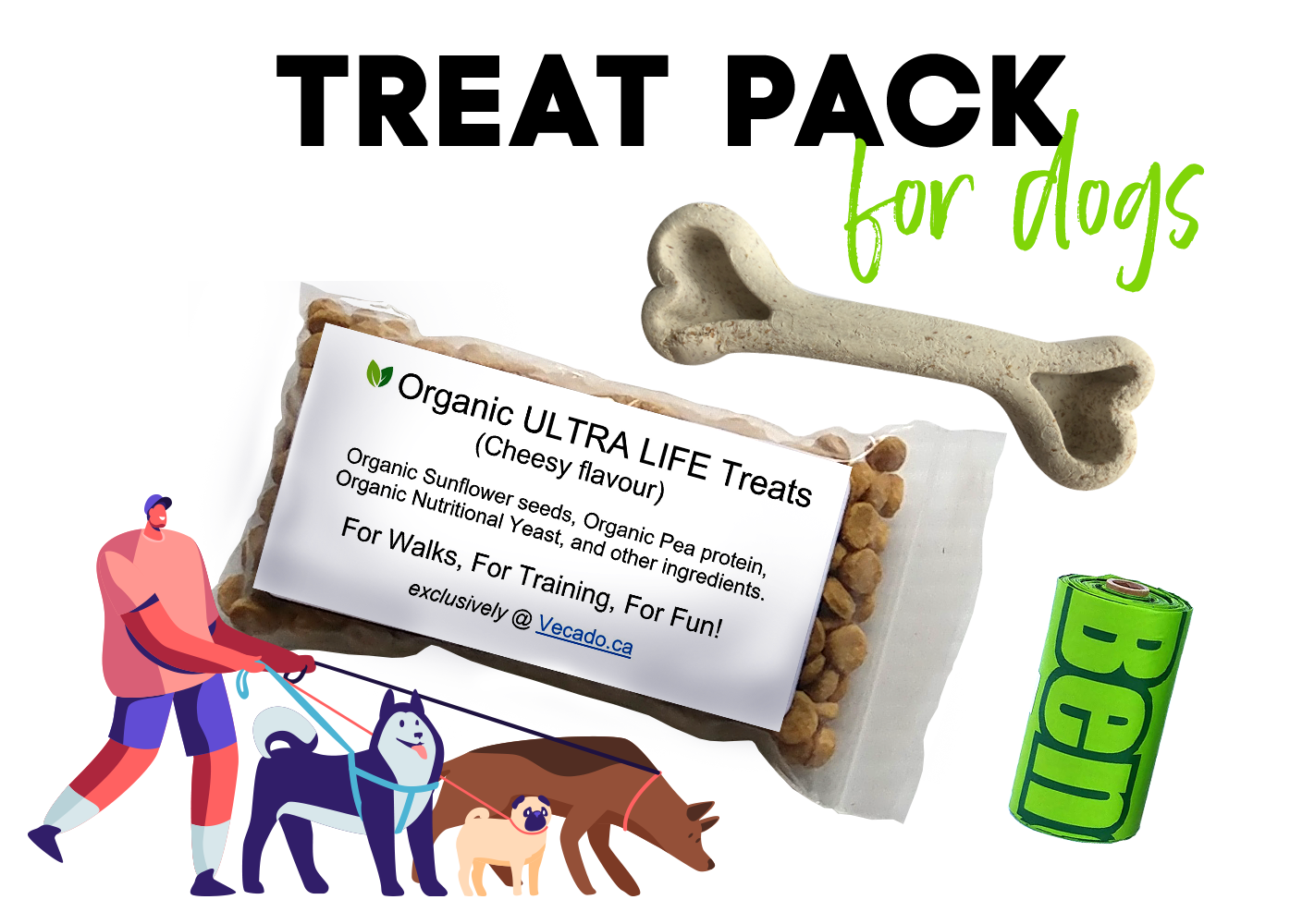Pack of Treats for Dogs