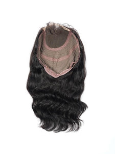 Virgin Brazilian Body Wave Closure Bob Wig - carevirginhair
