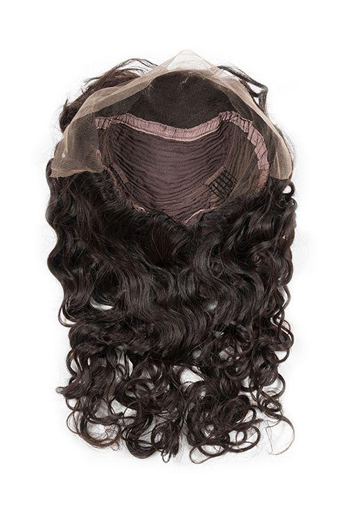 Virgin Brazilian Body Wave Lace Front Wig - carevirginhair
