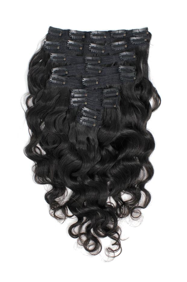 Virgin Brazilian Body Wave Clip-Ins - carevirginhair