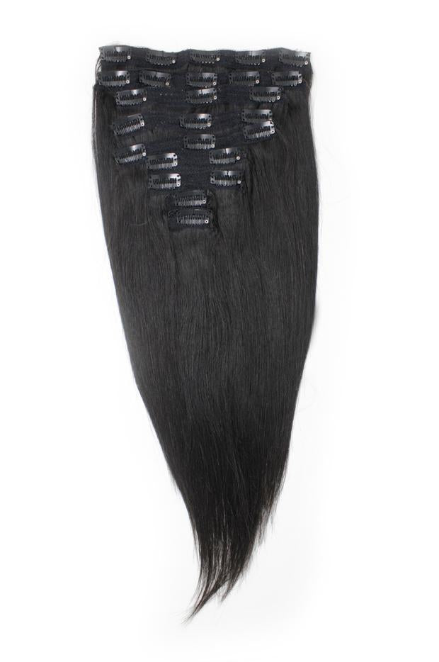 Virgin Brazilian Straight Clip-Ins - carevirginhair