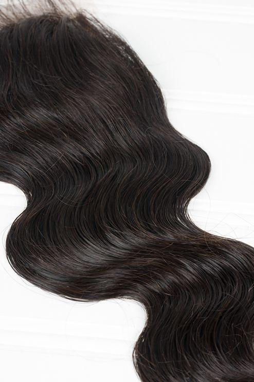 Virgin Indian Body Wave Lace Closure - carevirginhair
