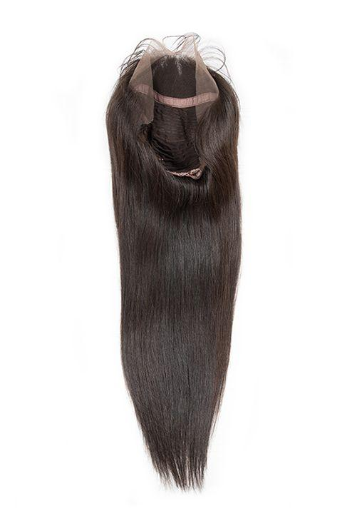 Virgin Brazilian Straight Lace Front Wig - carevirginhair