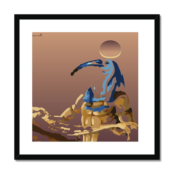 Look Up History (Thoth) Framed & Mounted Print
