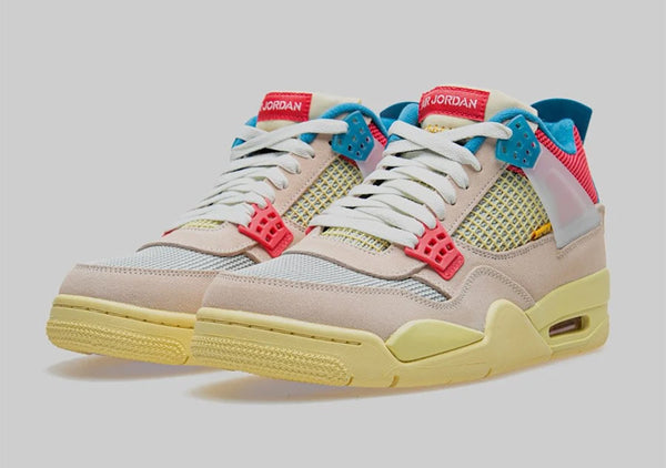 "UNION LA X AIR JORDAN RETRO 4 ""GUAVA ICE"""