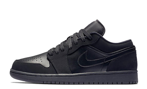 "Air Jordan 1 Low ""Triple Black"""