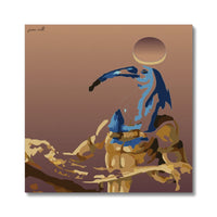 Look Up History (Thoth) Canvas