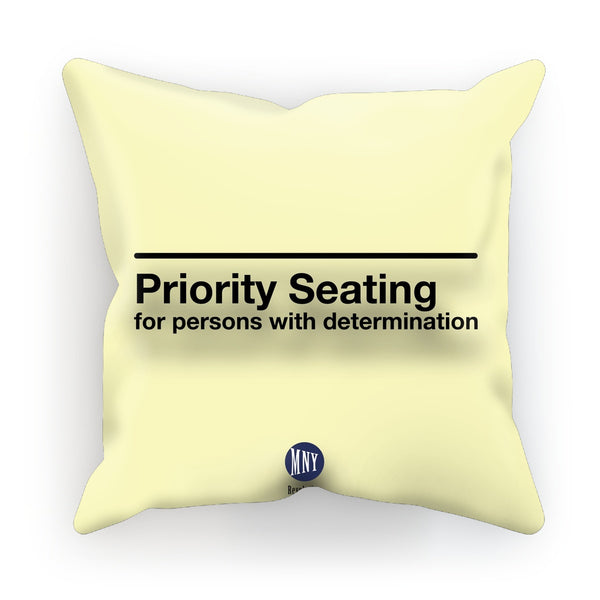 PriorityisAColorOfCharacter Cushion