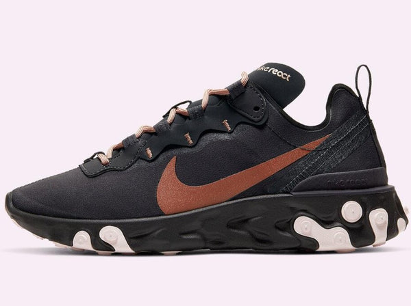 "WMNS React Element 55 ""Oil Grey"""